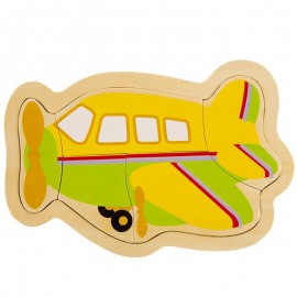 Układanka puzzle drewniane samolot ONSHINE