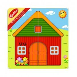 Układanka puzzle warstwowe farma ONSHINE