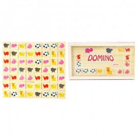 Domino drewniane farma Onshine