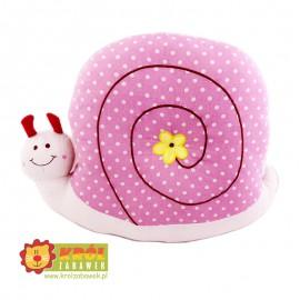 Maskotka Poduszka Ślimak Różowy