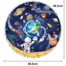 Drewniane duże puzzle Układ Słoneczny planety ONSHINE