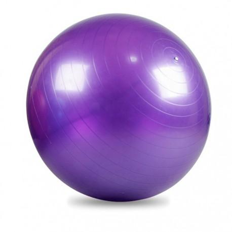 Piłka fitness fioletowa