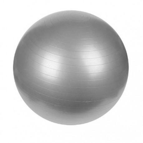 Piłka fitness srebrna