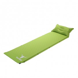 Mata materac samopompujący zielony Pekynew