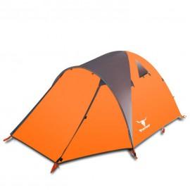 Namiot 3-4 osobowy pomarańczowy