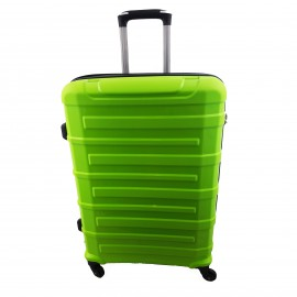 Walizka mała 4 kółka podróżna kabinowa zielona