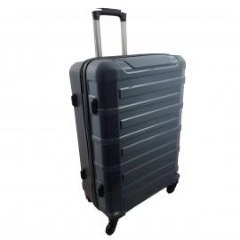 Walizka mała 4 kółka podróżna kabinowa szara