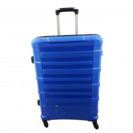 Walizka mała 4 kółka podróżna kabinowa niebieska