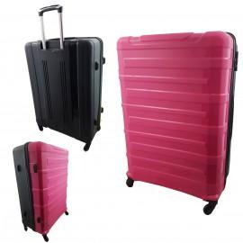 Walizka mała 4 kółka podróżna kabinowa różowa