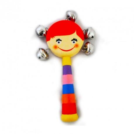 Dzwoneczki do ręki - dziewczynka