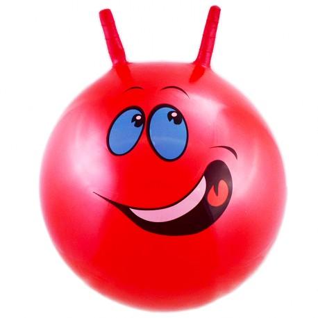 Perłowa piłka do skakania czerwona