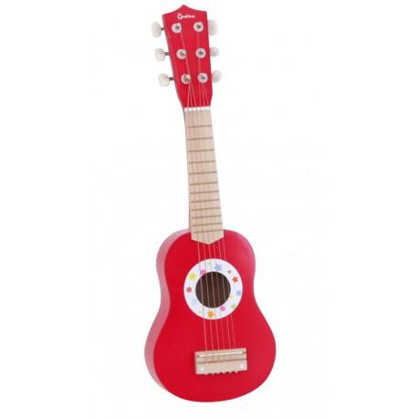 Gitara drewniana czerwona ONSHINE