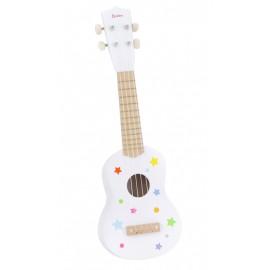 Gitara drewniana biała ONSHINE
