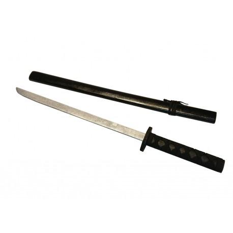Miecz drewniany zabawka czarny