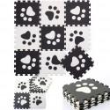 Mata piankowa puzzle EVA gruba 90x90 cm